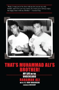 Page publishing Rahaman Ali book cover